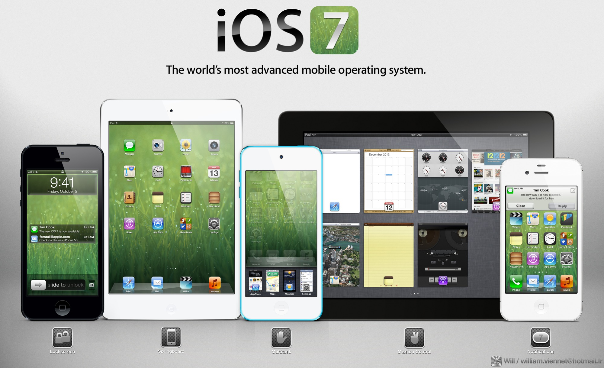 iOS 7은 머리의 움직임으로도 조절 가능하다는군요.