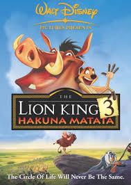 Lion King 3 : Hakuna Matata