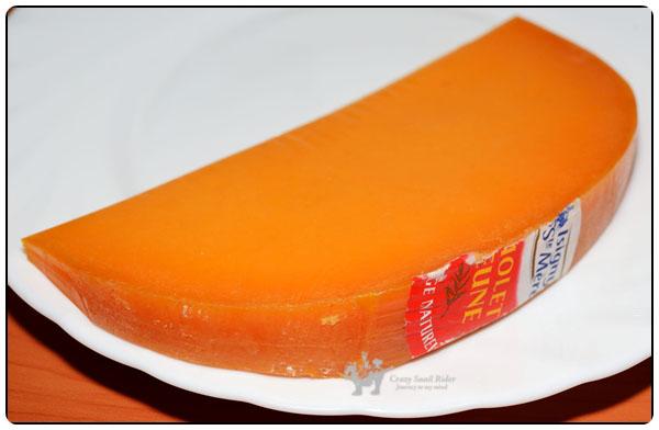 치즈 이야기 (31) 멜론 같은 색깔의 미몰레트 비에..
