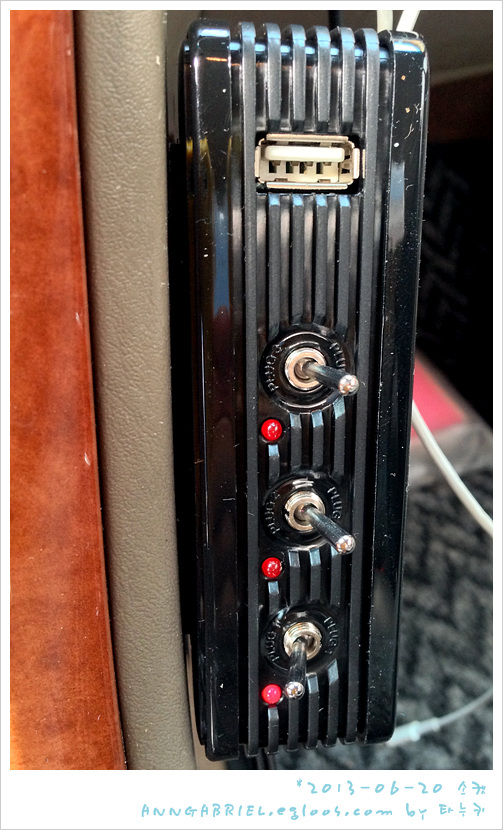 [카메이트] 차량용 스위치&USB 멀티소켓, NZ257
