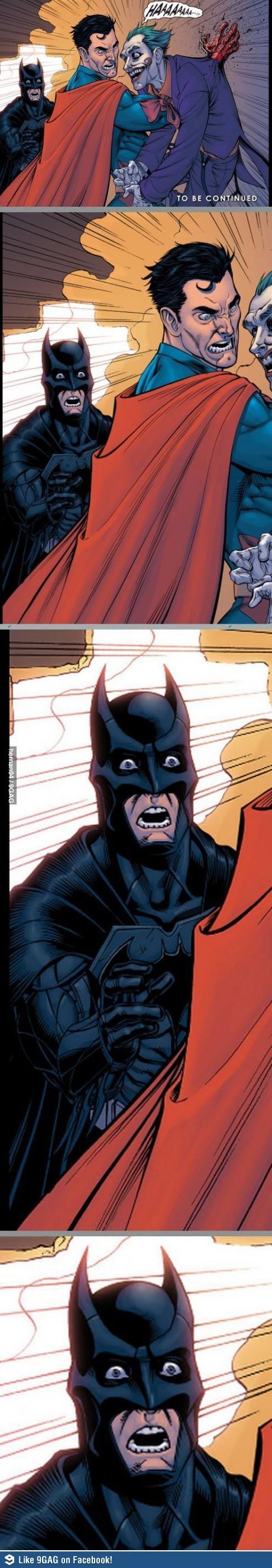 배트맨의 진정한 최후는?