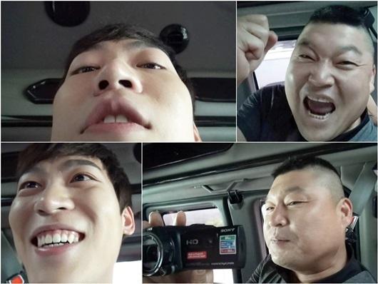 예체능 존박-강호동, 굴욕샷 공개