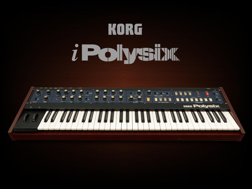 iPolysix로 만든 일렉 곡들