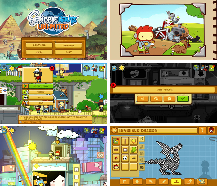 [만화 게임리뷰] Scribblenauts Unlimited