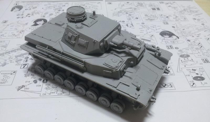 [Girls & Panzer / 4호전차 D형] 막판 스퍼트 중..