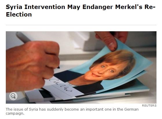 """메르켈,""""시리아에 개입할 것인가,말것인가!"""""""