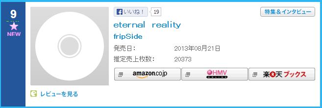 fripSide의 새로운 음반은 오리콘 9위, 러브라이..