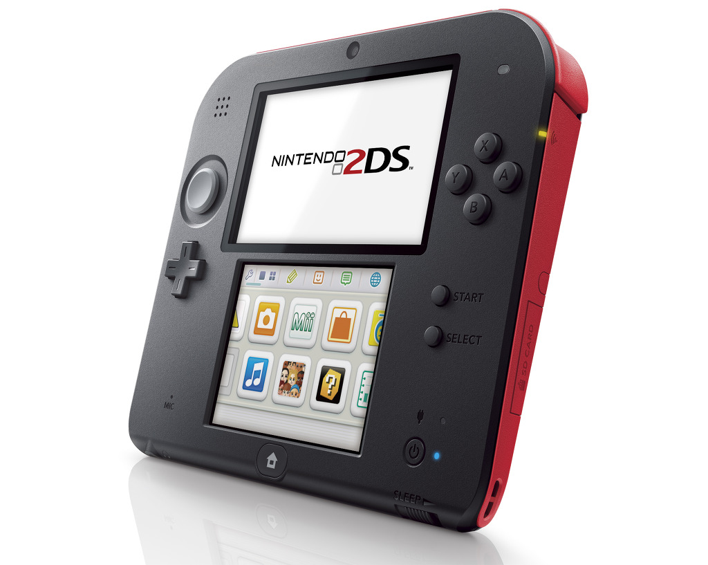 닌텐도 3D 기능 뺀 2DS 공식 발표