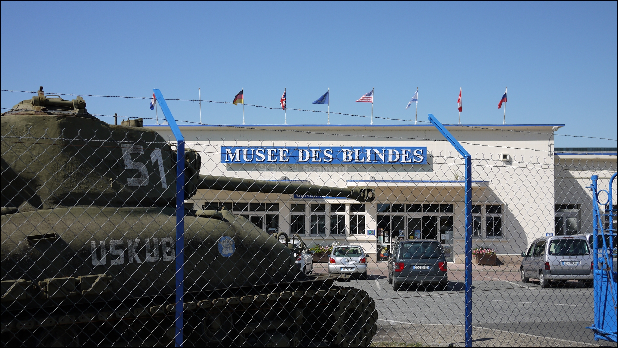 Musee des blindes(Tank Museum)