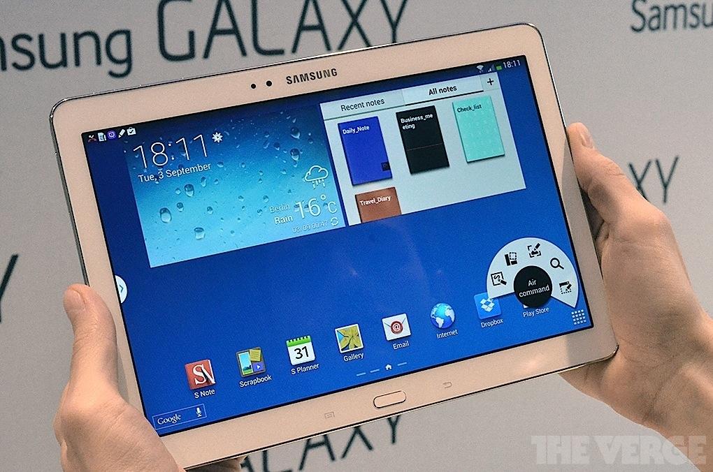 삼성, 초고해상도 갤럭시 노트 10.1 2세대 발표