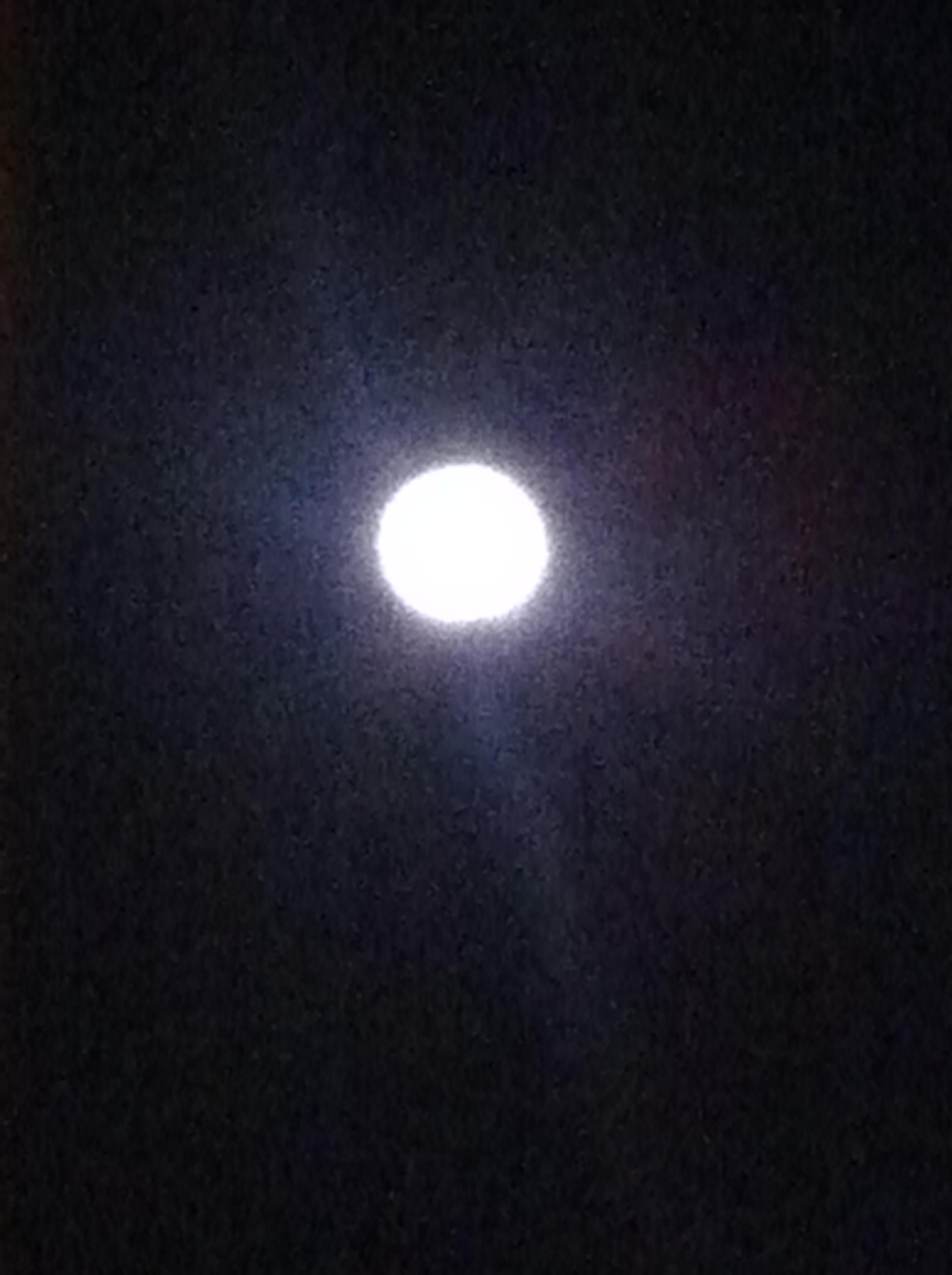 보름달 보고 소원빌기