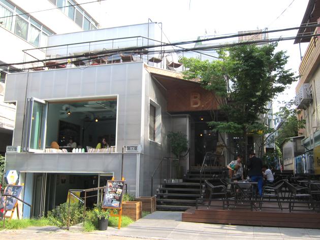 상수 합정역 근처 분위기 좋은 카페 '비닷 B.'
