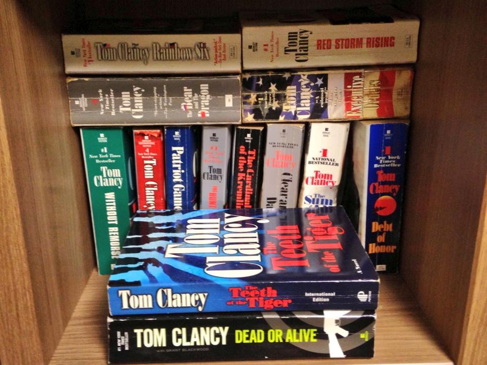 Tom Clancy (1947-2013)