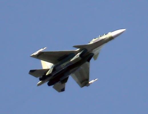 이르쿠트에서 제조된 Su-30SM