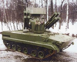 BMP-3기반 실험차량 두개.Experiment