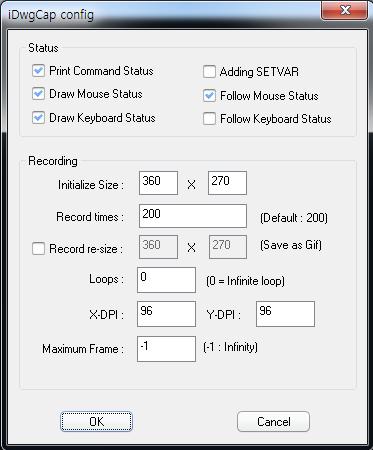 [패치4] iDwgCap1.0 - 움직이는 GIF파일 제작 ..