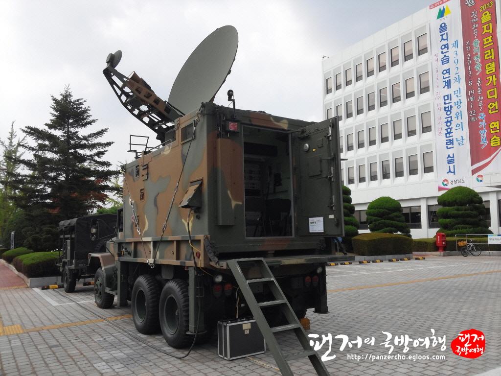 향토사단에도 배치완료된 위성통신장비