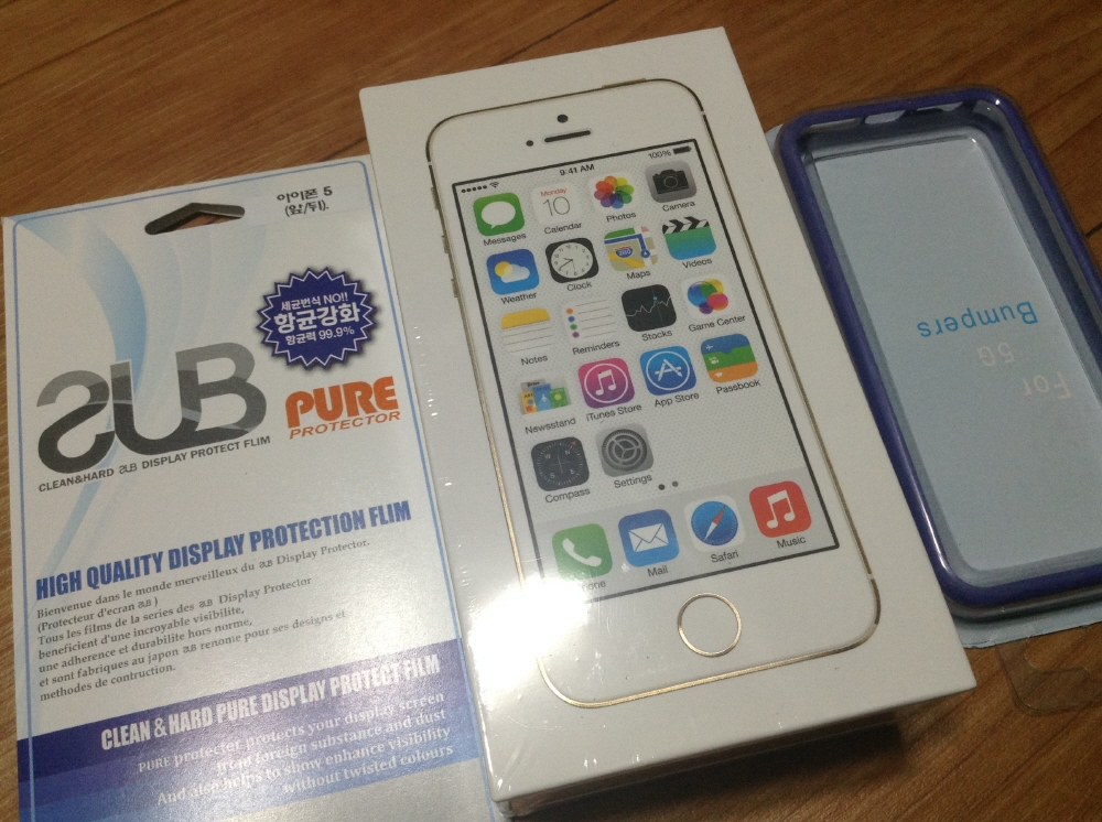 아이폰 5s 샴페인골드 개통