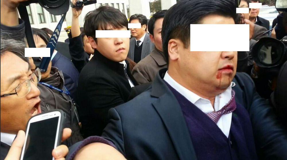 강기정/ 민주당 의원들의 패왕색의 패기