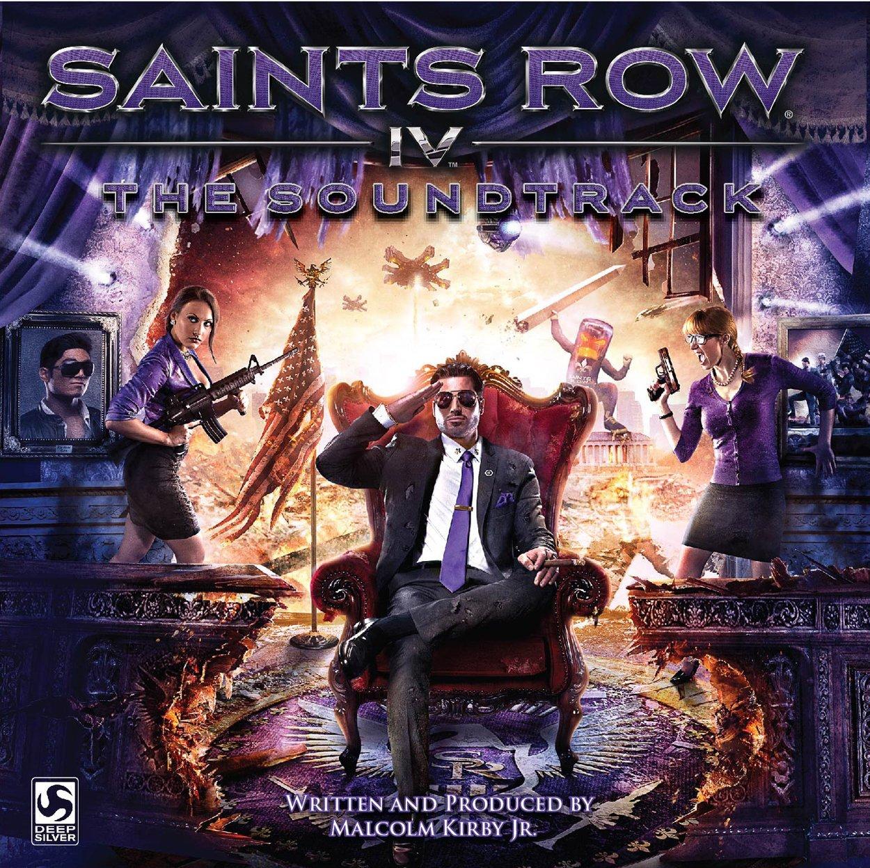 SAINTS ROW IV THE SOUNDTRACK