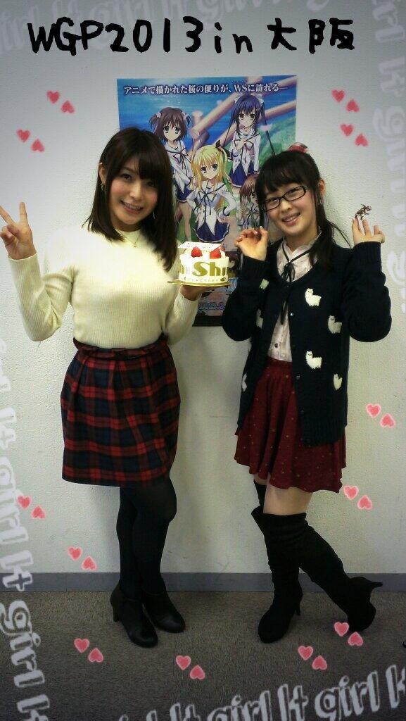 성우 오우사키 치요 & 닛타 에미씨의 사진