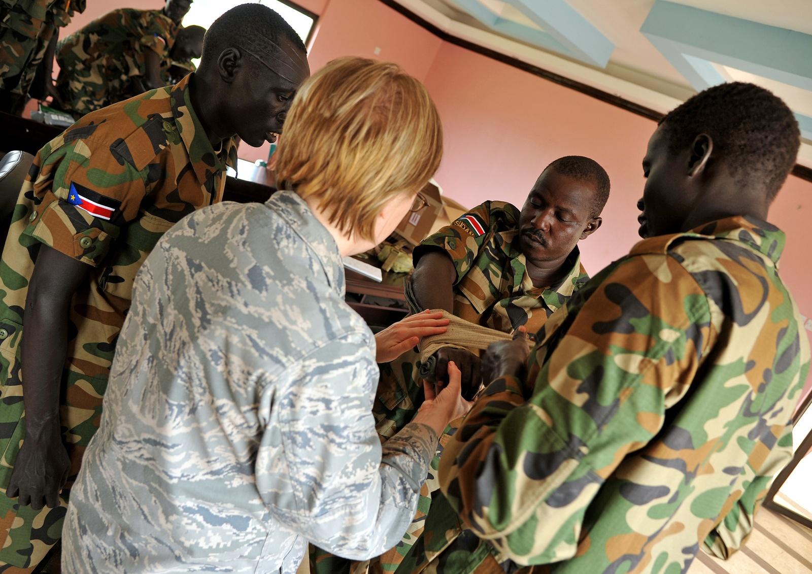남수단에 육군 병력을 파견하는 미국 정부
