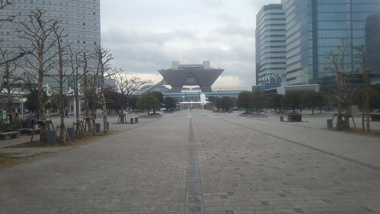코믹마켓85 개최를 앞두고 전운이 감도는 도쿄 빅사..