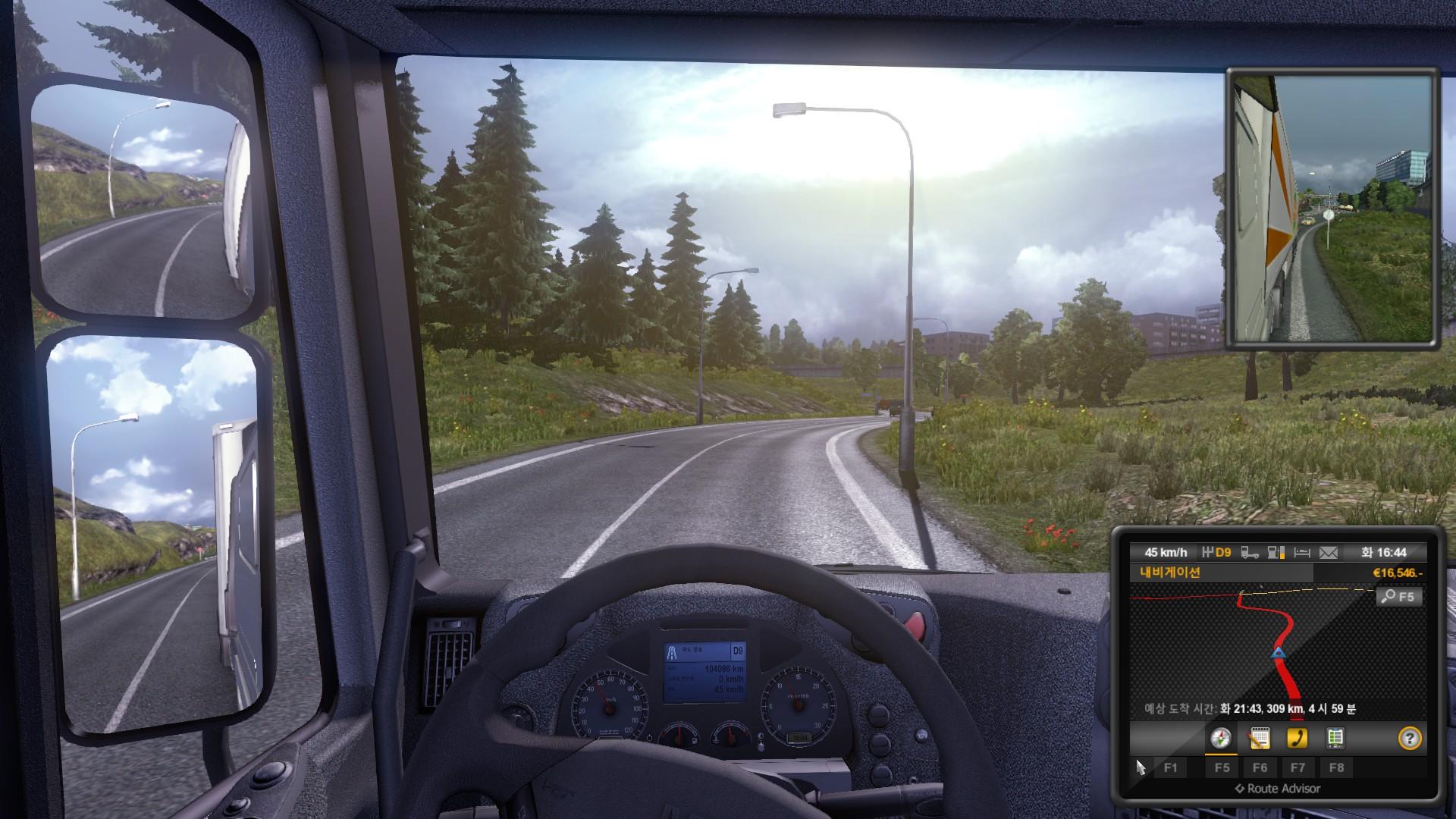 [2014-01-03] 유로트럭 시뮬레이터 2 - 시간 변화