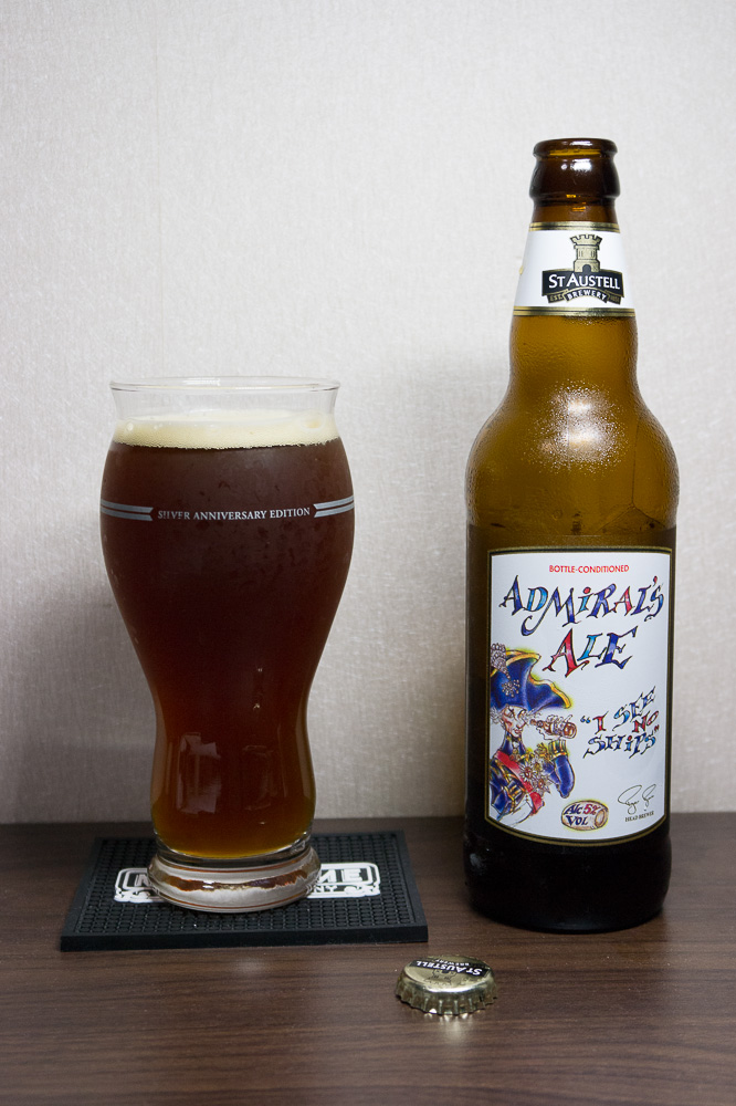 St. Austell Admiral's Ale