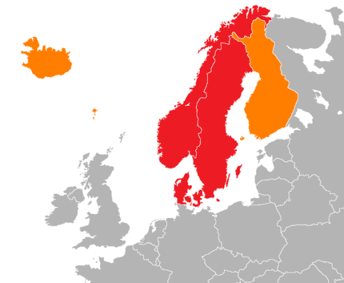 노르딕 국가들의 역사적 변천 과정