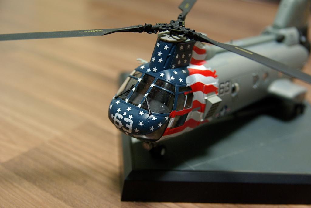 CH-46D (Academy 1/48)
