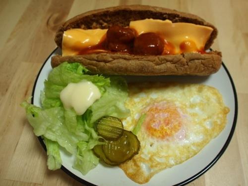 미트볼 샌드위치, 비빔만두