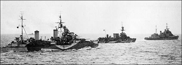 2차 대전 영국 순양함 시리즈 -② 경순양함 : 1차 대..