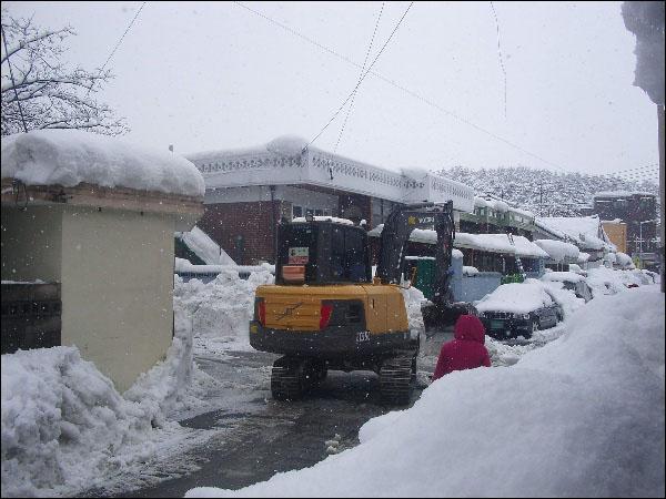 (2014.02.18~19) 눈, 골목길, 제설작업