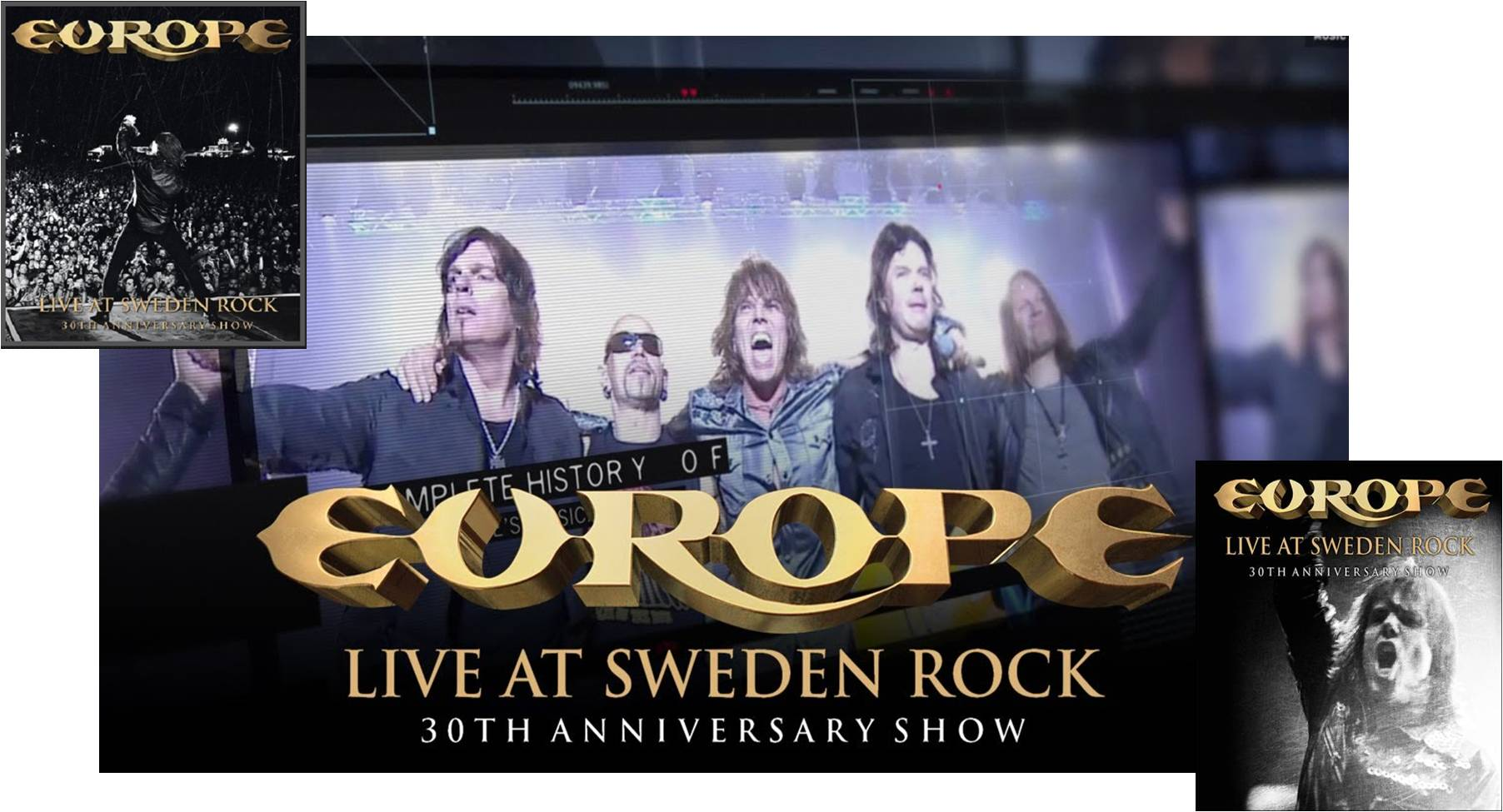 [Review] Europe, [Live At Sweden Rock..