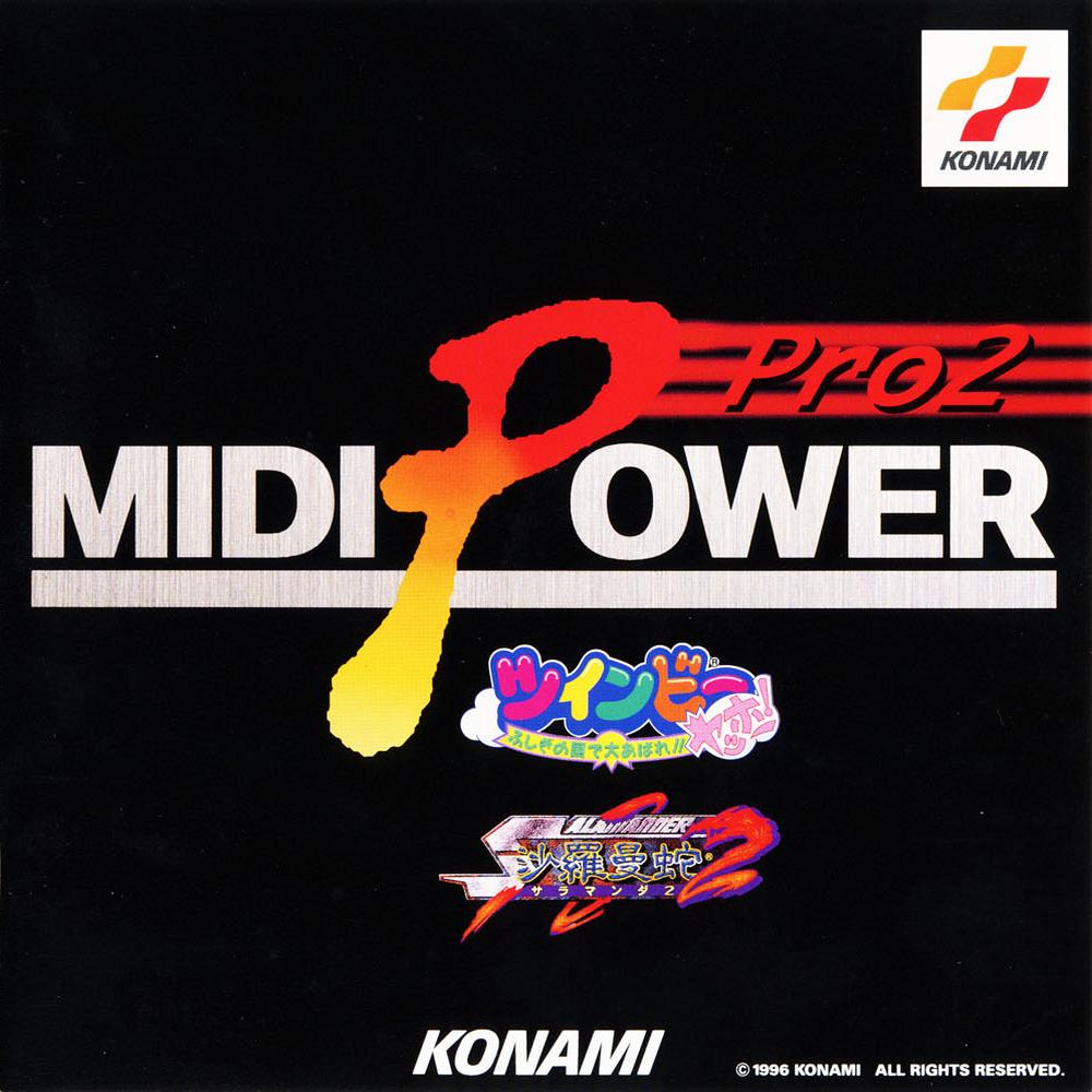 MIDI Power Pro 2 ~Salamander 2 Twinbee Ya..
