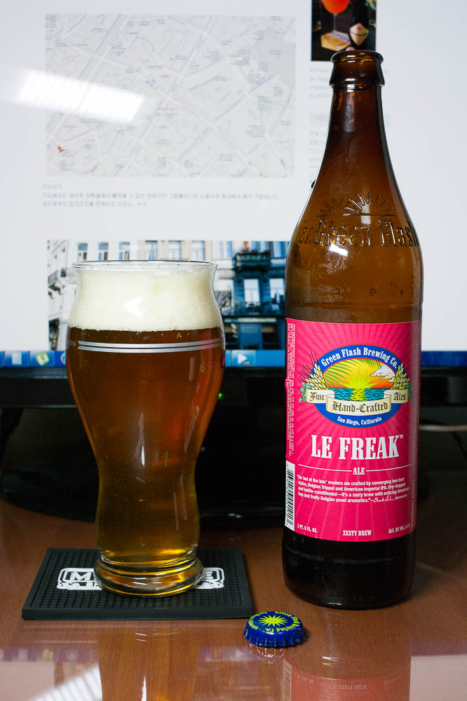 Green Flash Le Freak Ale