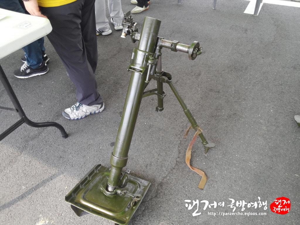똥포라고 불리었던 KM-19 박격포