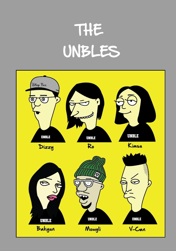 The Unbles (color ver.)