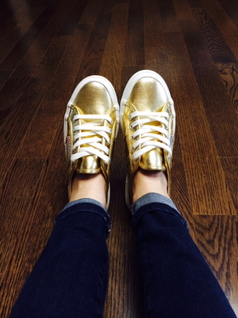 Superga Gold & 야상