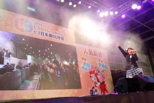 러브라이브 뮤즈 성우진 가운데 7명이 홍콩에 가서 ..