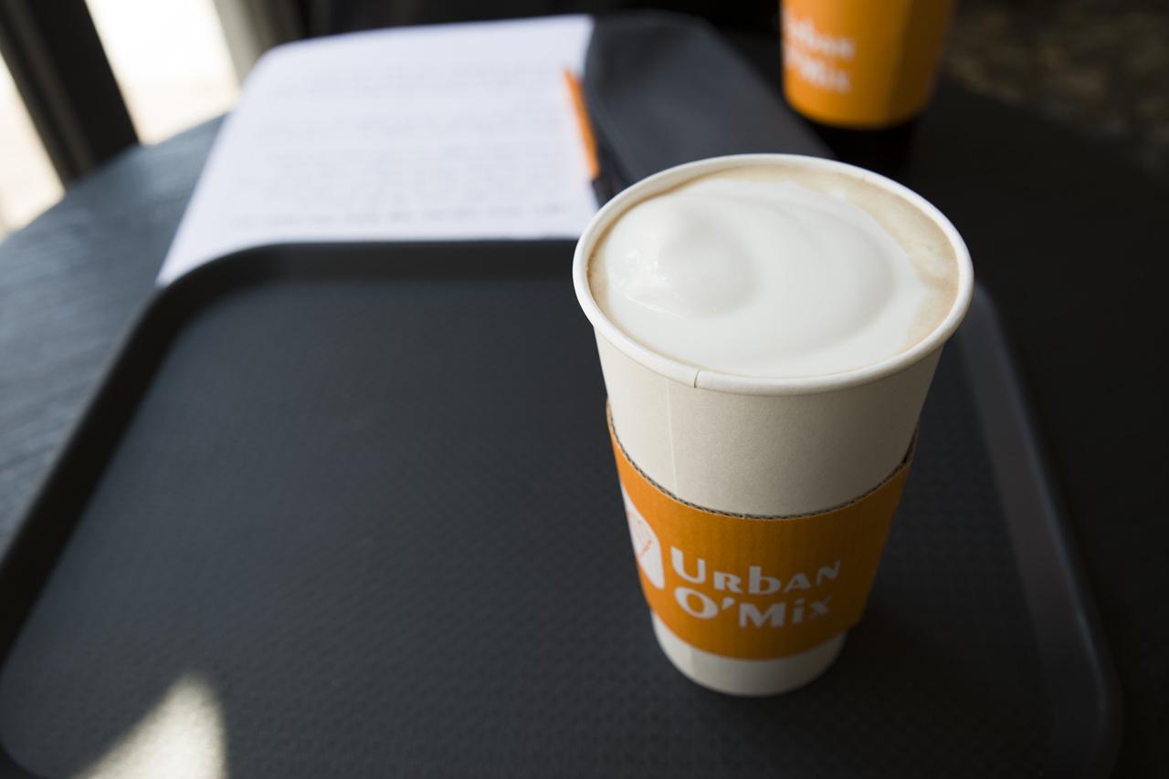 [홍대] 어반 오 믹스의 소금 치즈 커피!!