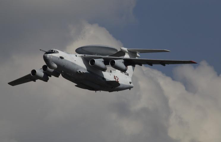 조경통제기 A-50U의 3번기가 러시아 공군에게 들..