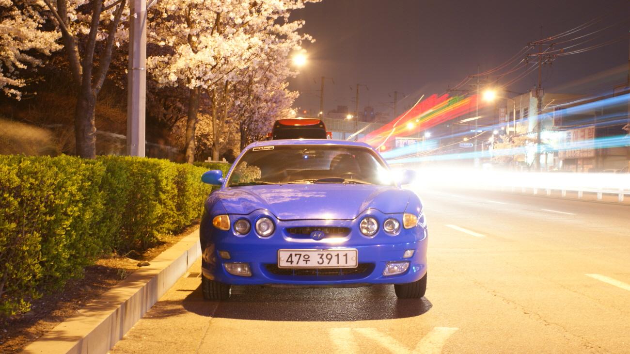 연료계통 트러블 발견 및 하중이동 연습, 벚꽃사진..