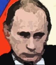 즐거운 포토삽 합성 따라하기, '미쿠가 된 푸틴'편.