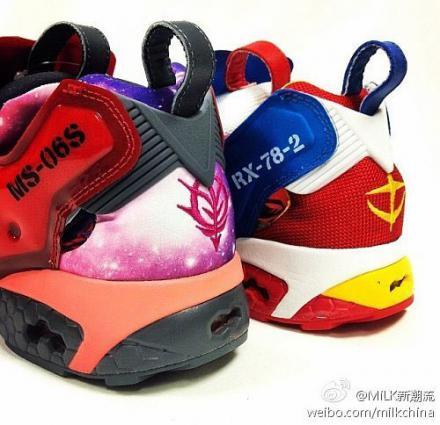 기동전사 건담 x 리복의 콜라보레이션 신발이 멋..