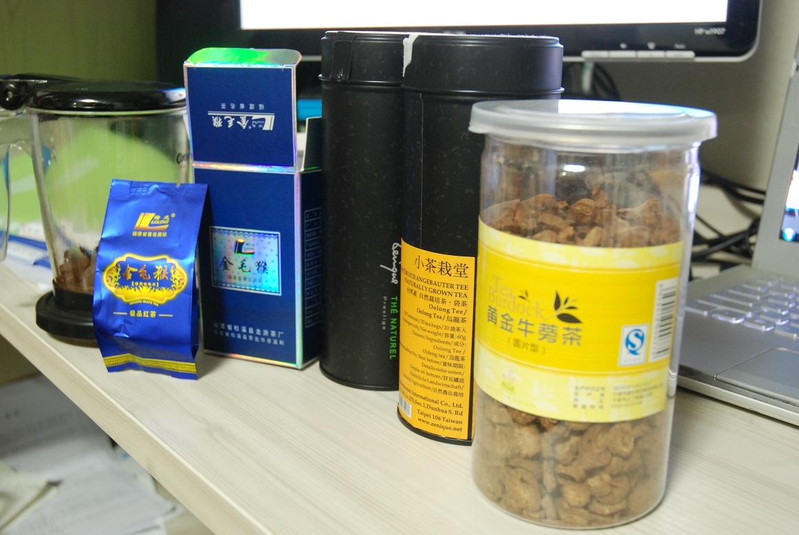 요즘 마시고 있는 중국차茶... 차를 많이 마시는 ..