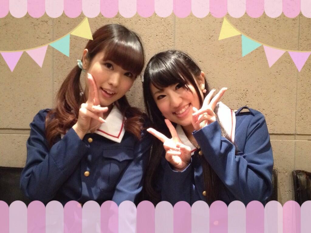 성우 요시오카 마야 & 후치가미 마이씨의 사진이 ..