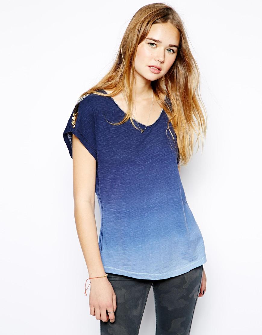 여성복(Hilfiger Denim Kasha T-Shirt)