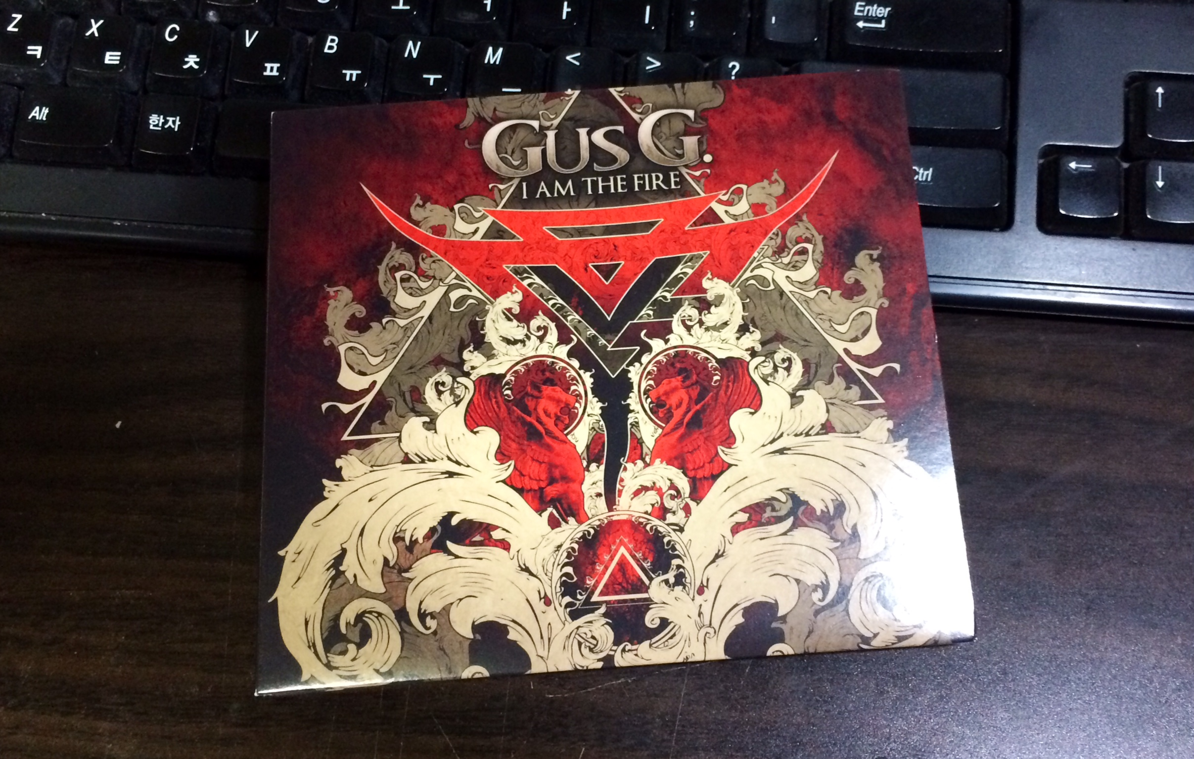 I Am The Fire - Gus G. / 2014